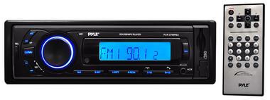 Pyle PLR27MPBU Car Stereo Radio AM/FM SD/USB/MP3/AUX Bluetooth Wireless & Remote Thumbnail 2