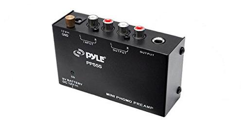 Pyle-Pro PP555 Phono Pre Amp