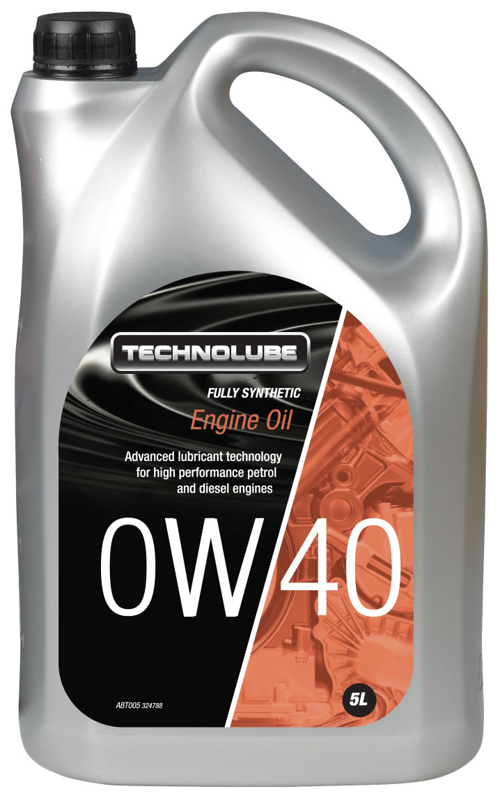 Technolube ABT005 0W-40 Porsche BMW Fully Synthetic 5 Litre Engine Oil