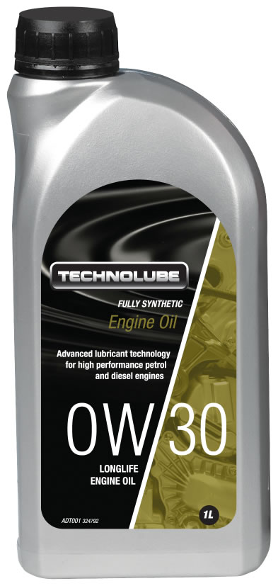 Technolube ADT001 0W-30 Honda Renault Volvo Fully Synthetic 1 Litre Engine Oil