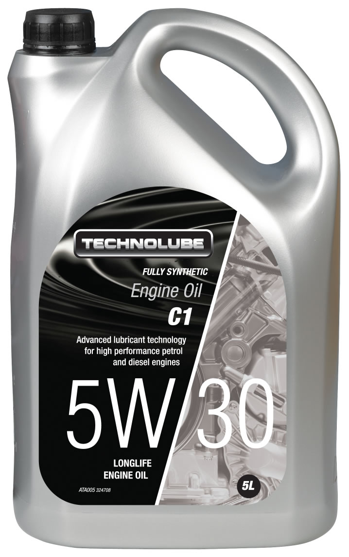 Technolube ATA005 5W-30 C1 Mazda Jaguar Fully Synthetic 5 Litre Engine Oil