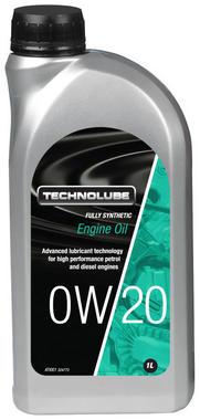 Technolube ATI001 0W-20 Car Van Fully Synthetic 1 Litre Engine Oil Thumbnail 1