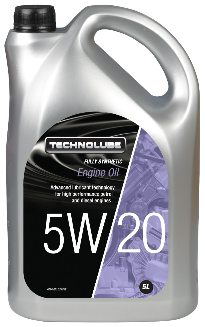 Technolube ATM005 5W-20 Ford Fully Synthetic 5 Litre Engine Oil