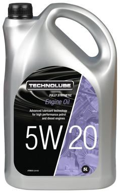 Technolube ATM005 5W-20 Ford Fully Synthetic 5 Litre Engine Oil Thumbnail 1