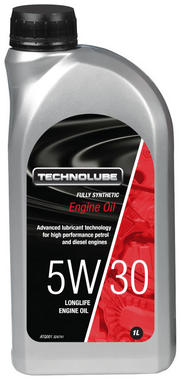 Technolube ATQ001 5W-30 Car Van Fully Synthetic 1 Litre Engine Oil Thumbnail 1