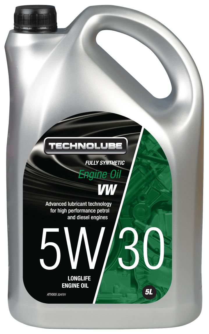 Technolube ATV005 5W-30 VW Group Fully Synthetic 5 Litre Engine Oil