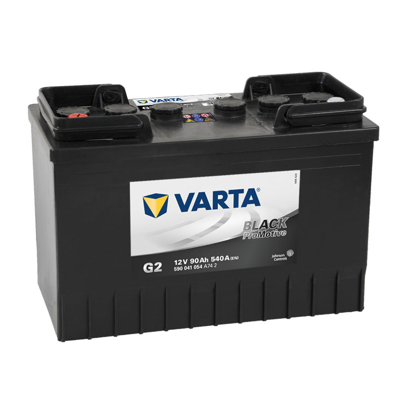 Varta G2 12v 90 AH 540 CCA 644-646 2 Year Warranty Commercial Battery