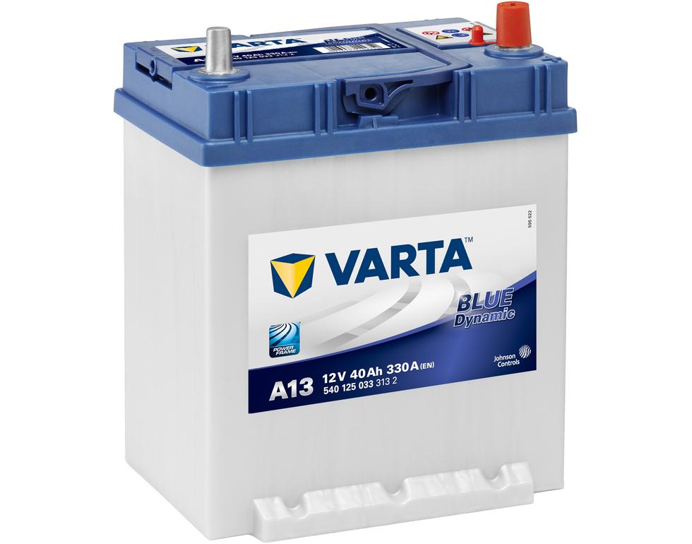 Varta A13 Heavy Duty 12 Volt 054 40Ah 330CCA 4 Year Suzuki Toyato Honda Car Battery