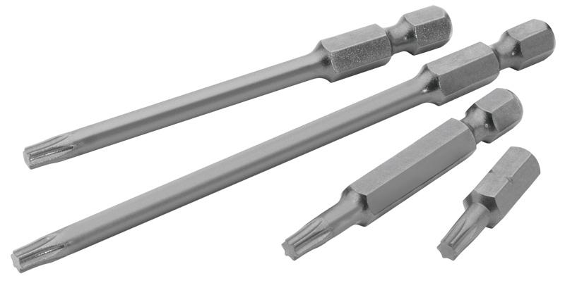 """Draper 10375 Expert T6 1/4"""" Hex. Draper Tx-Star Insert Bit 25mm Long X 2"""