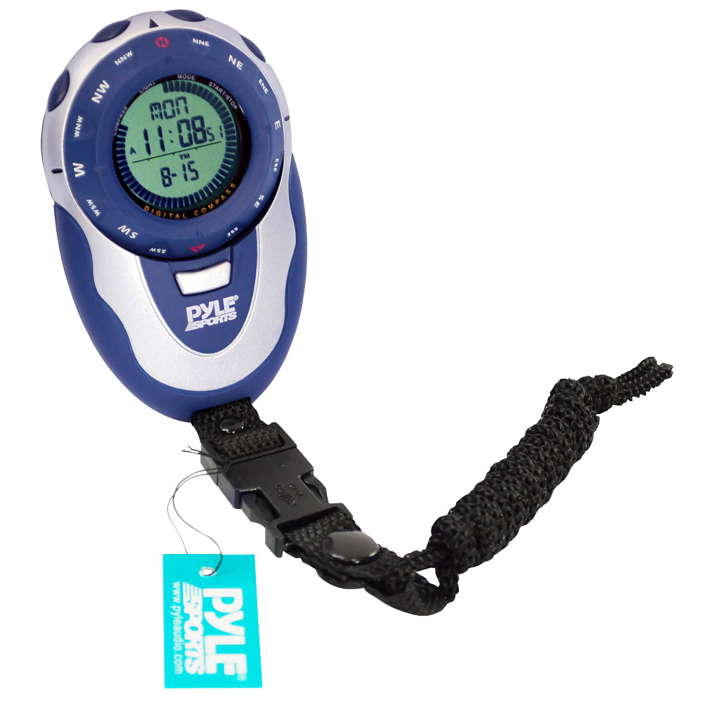 Pyle Sports Marathon Runners Running Training Watch Pacer Chronograph Timer