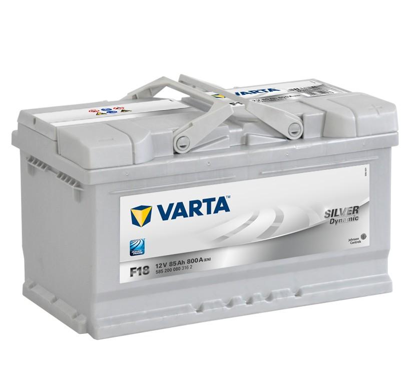 Varta F18 Heavy Duty 12 Volt 110 85Ah 800CCA 5 Year Audi BMW VW Vauxhall Porsche Car Battery