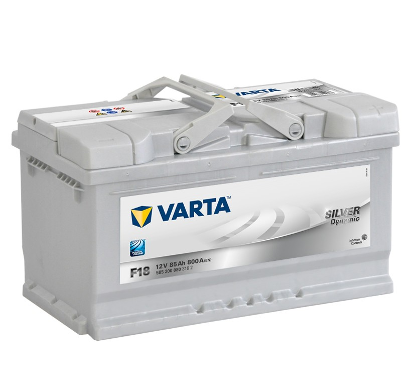 Varta F18 Heavy Duty 12 Volt 110 85Ah 800CCA 5 Year Audi BMW VW Vauxhall Porsche Car Battery