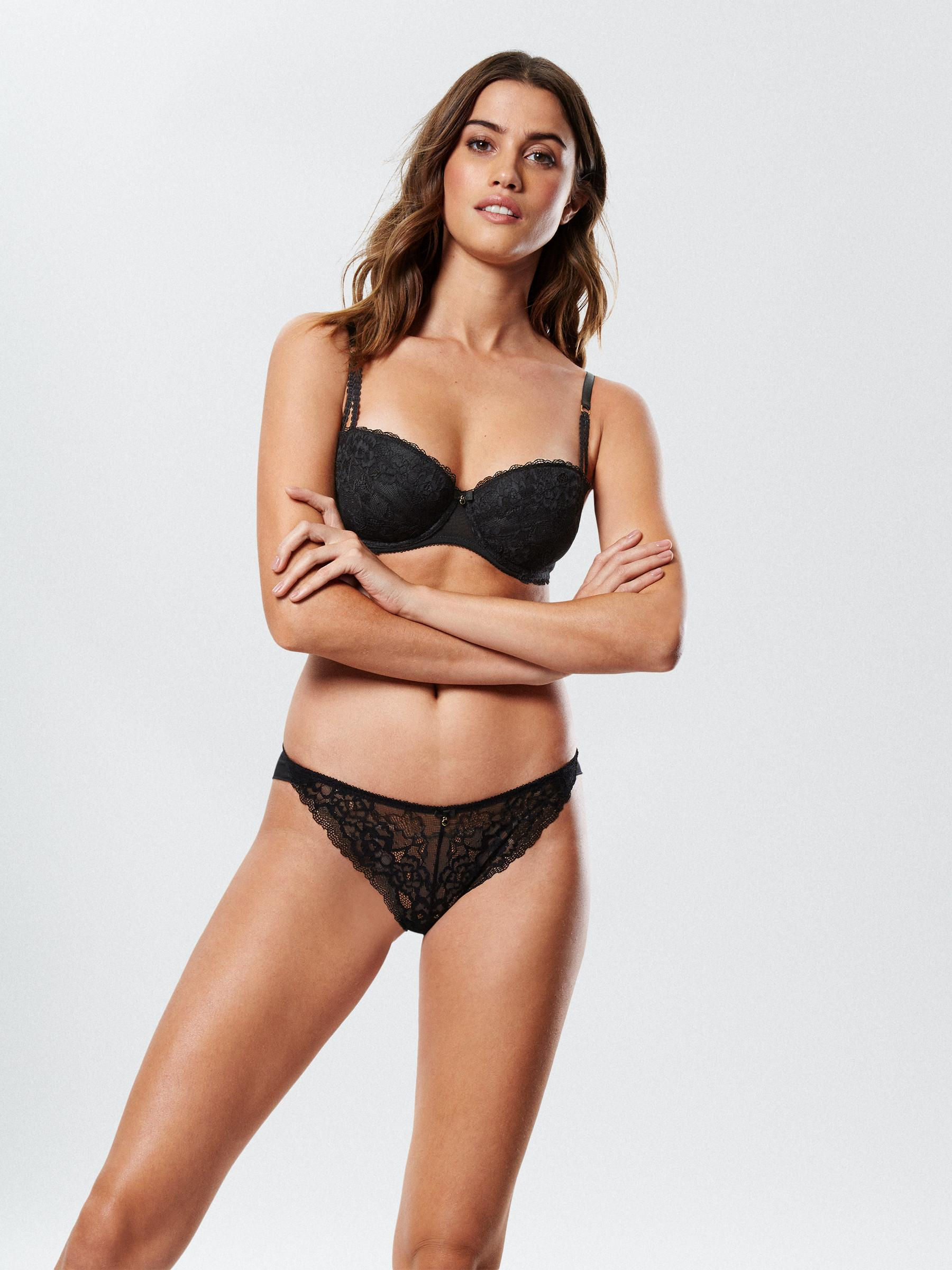 027480a1ea0d3 Ann Summers Womens Sexy Lace 2 Balcony Bra Underwire Sexy Lingerie Underwear