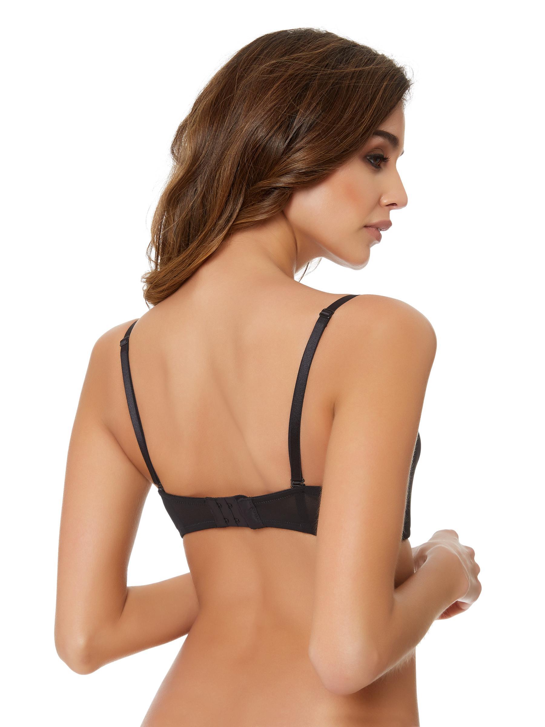92697aaea9c17 Ann Summers Womens Harper Strapless Bra Padded Underwired Lingerie Underwear