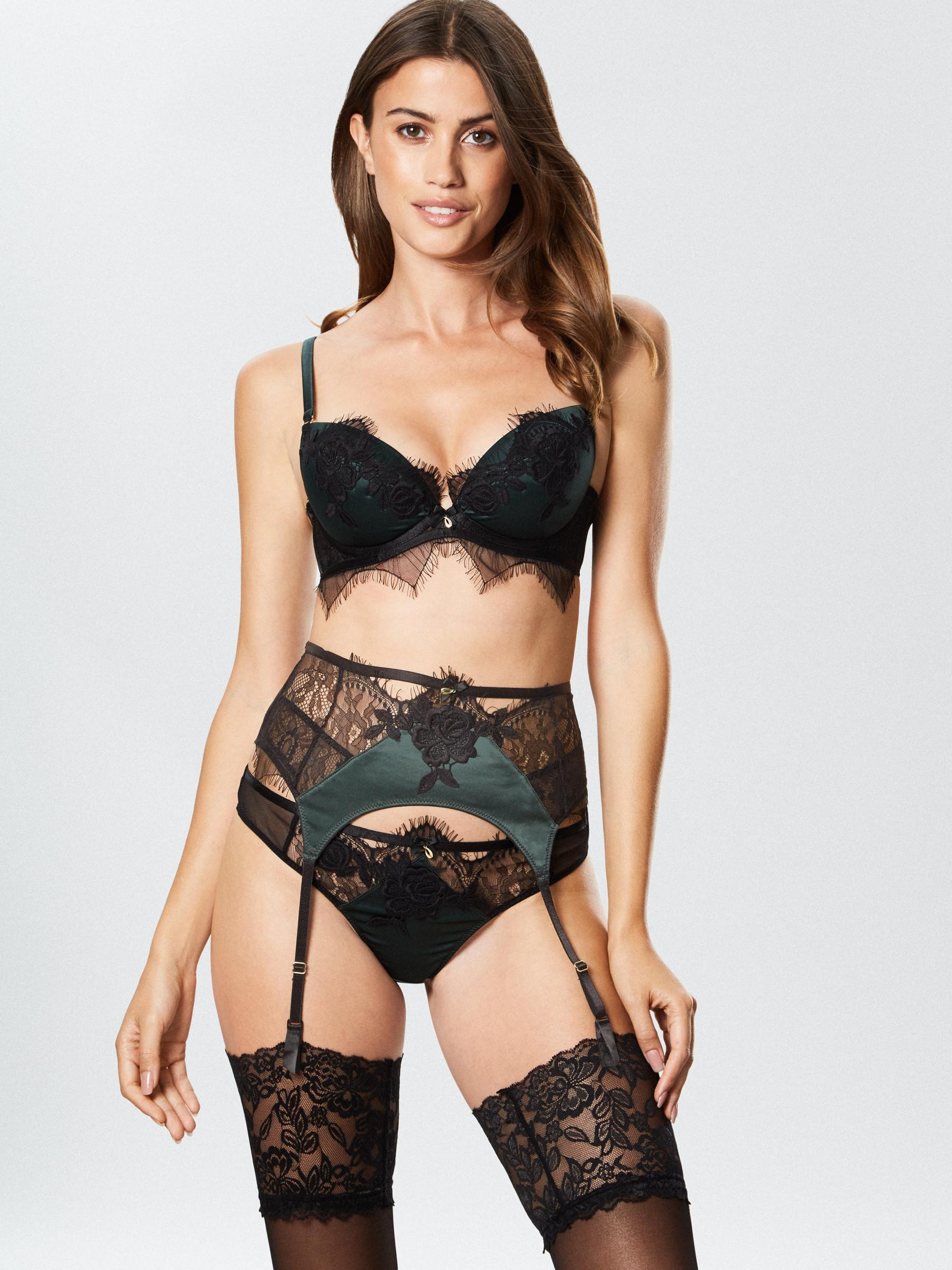 b3773569aafc Ann Summers Womens Forest Lace Thong G-String Knickers Sexy Lingerie  Underwear