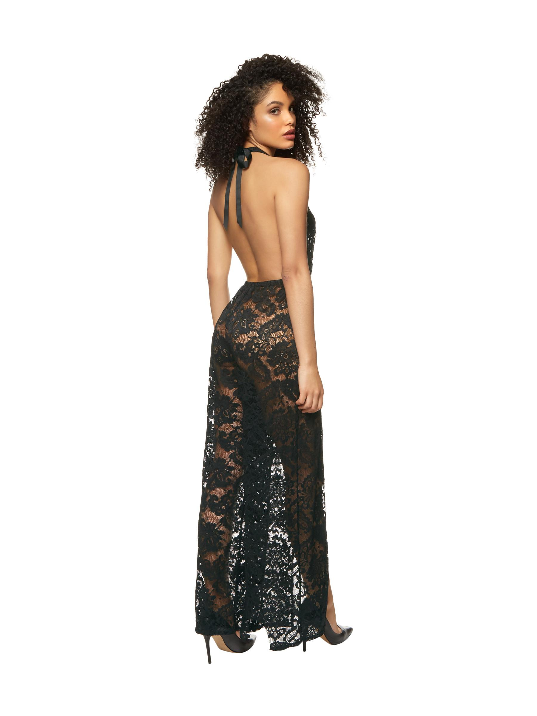 Ann Summers Womens Cabana Jumpsuit Deep Plunge Neck Y Cover Up Beachwear
