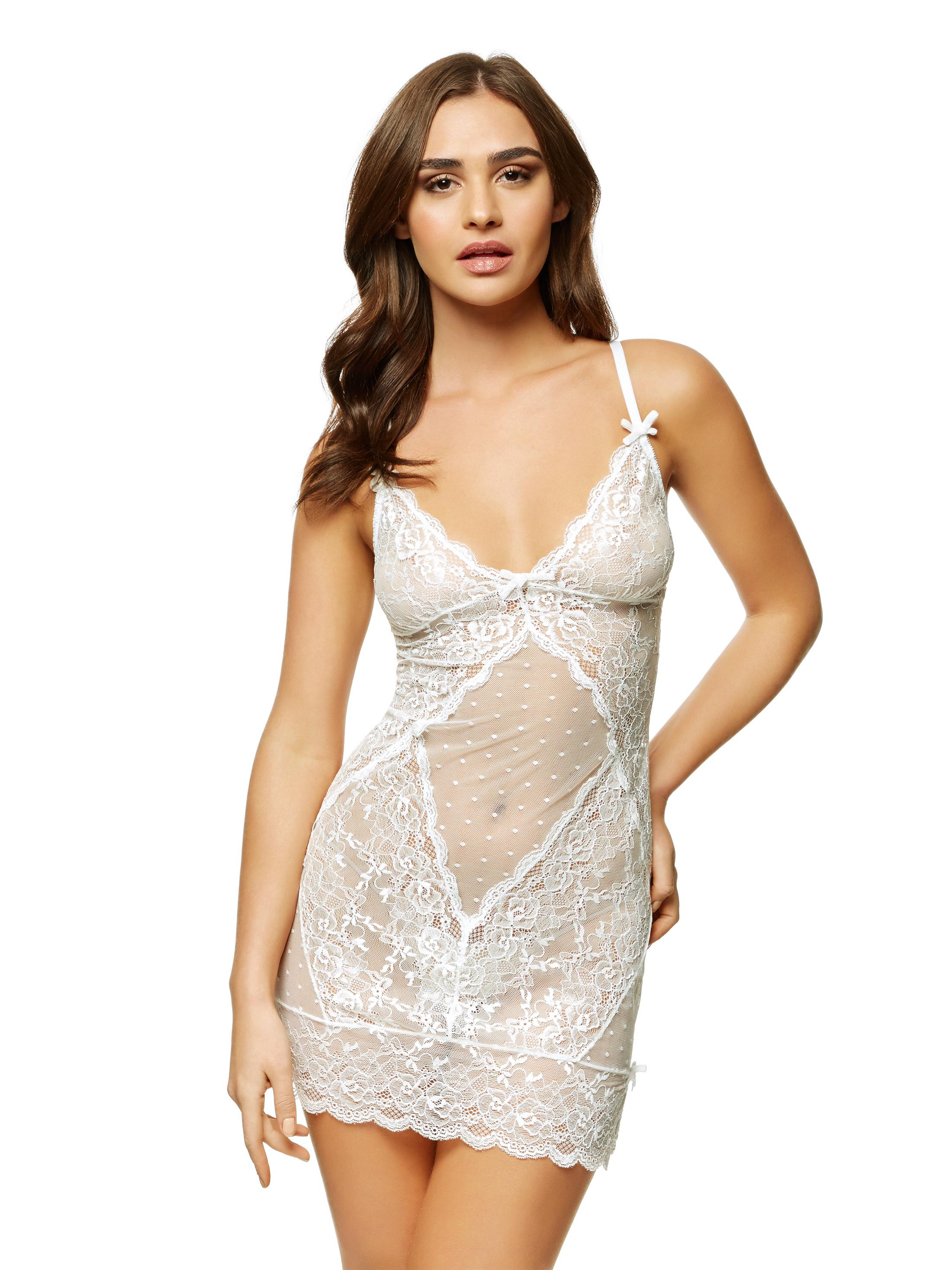 Sexy lace chemise