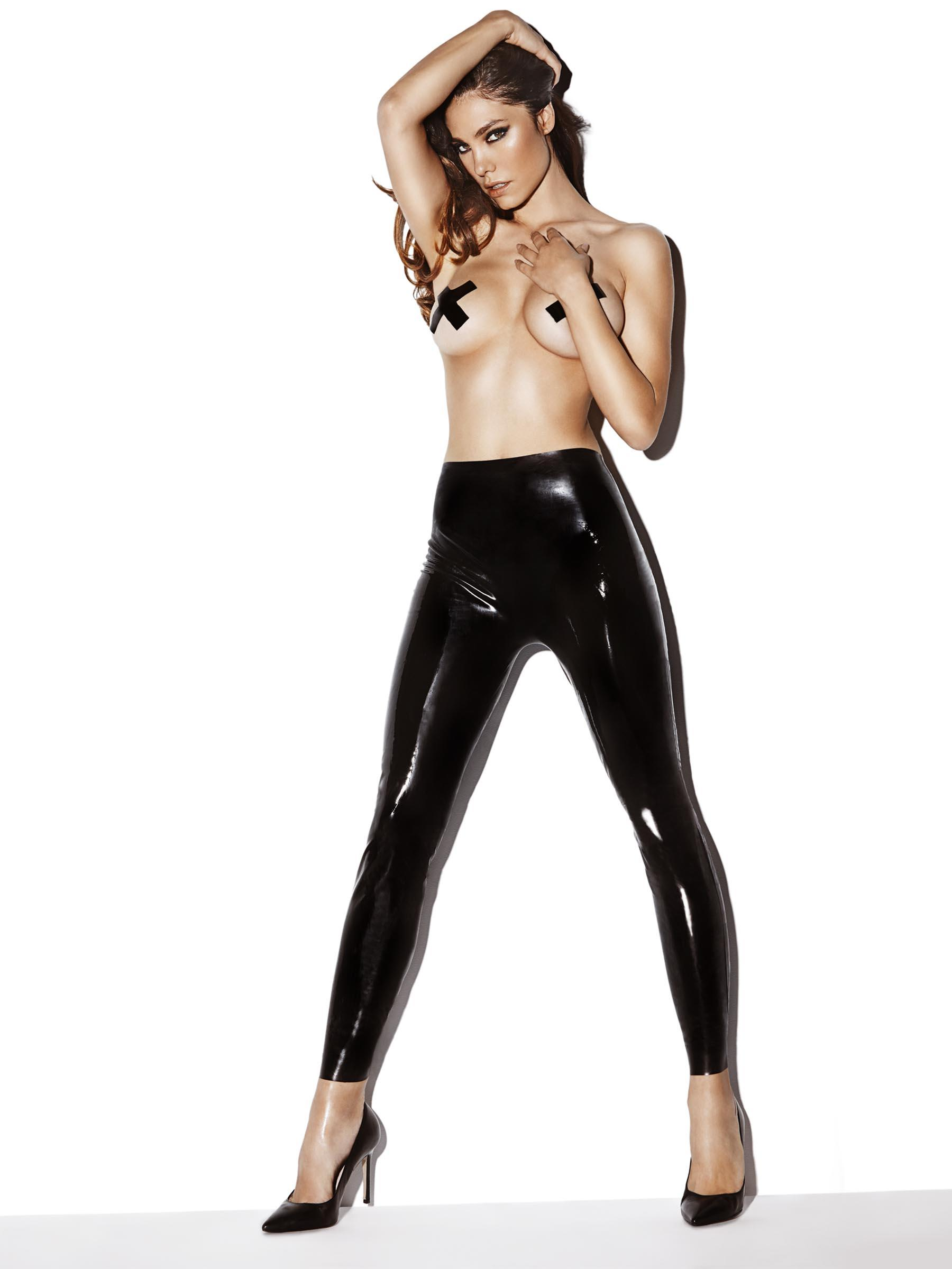 latex leggings sukanya massage