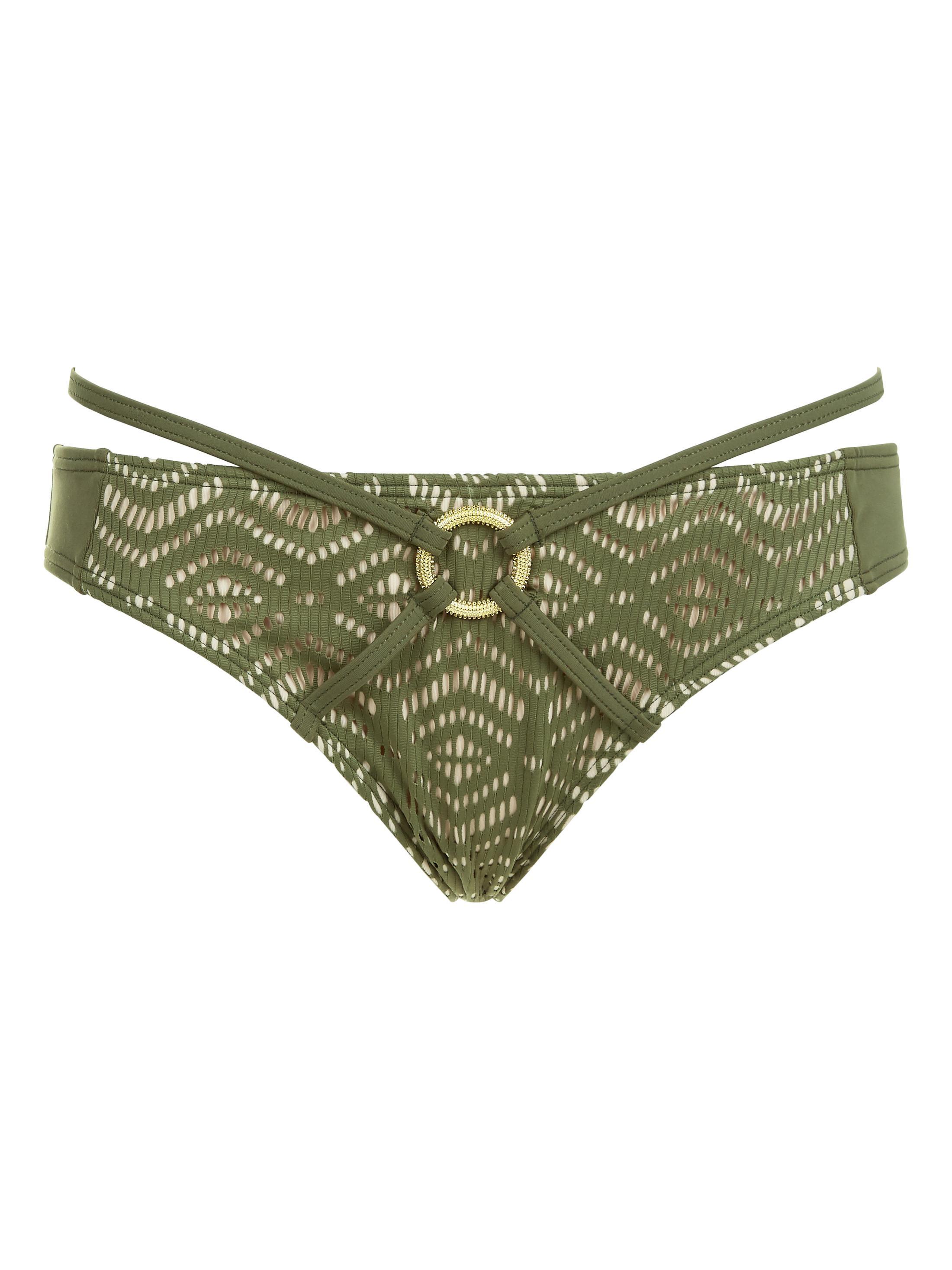 1c99ec363d Ann Summers Womens Aroa Bikini Bottom Mesh-Overlaid Sexy Swimwear Beachwear