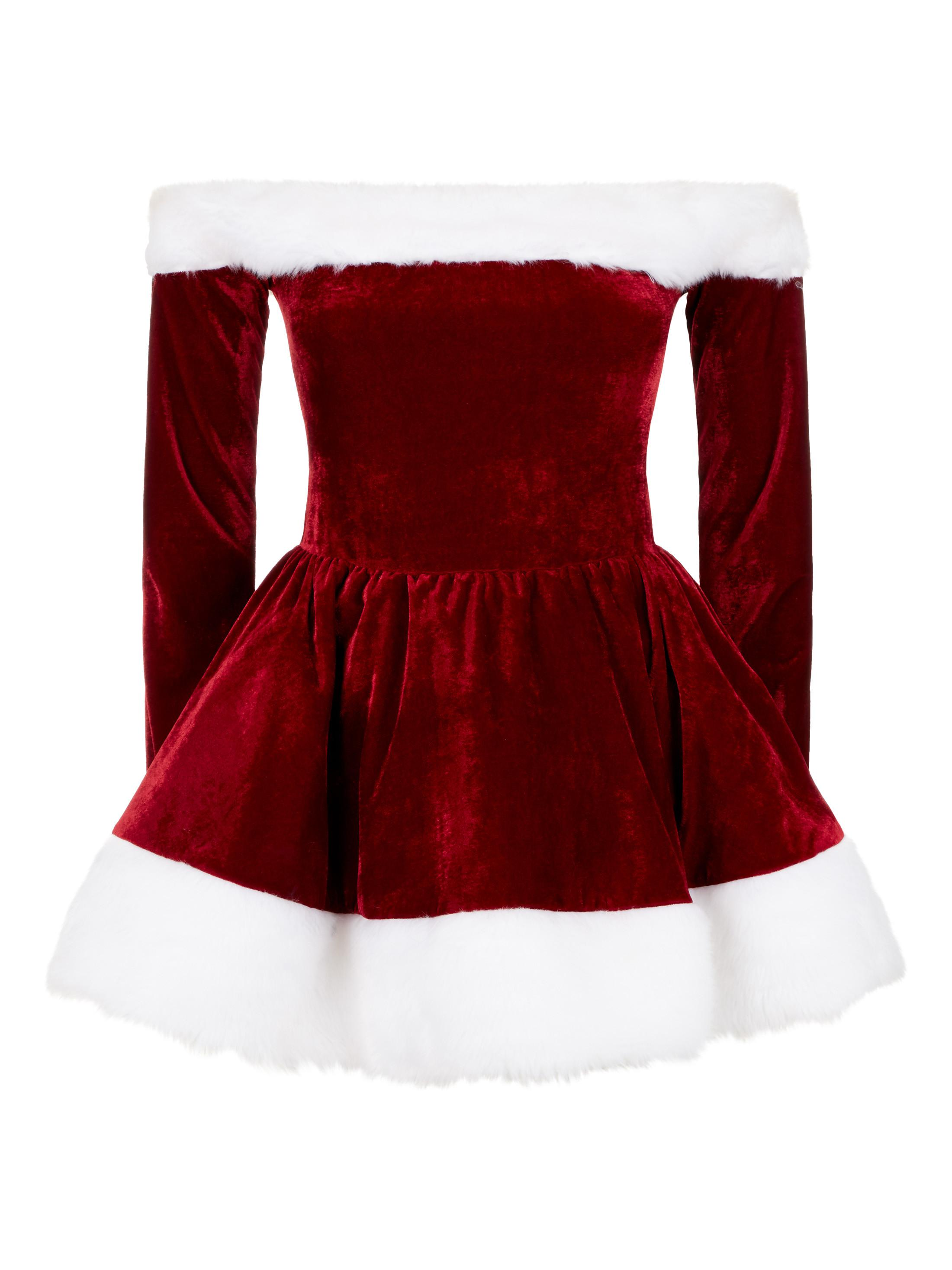 2307e1f32bb Ann Summers Womens Sexy Miss Santa Outfit Sexy Christmas Costume Fancy Dress