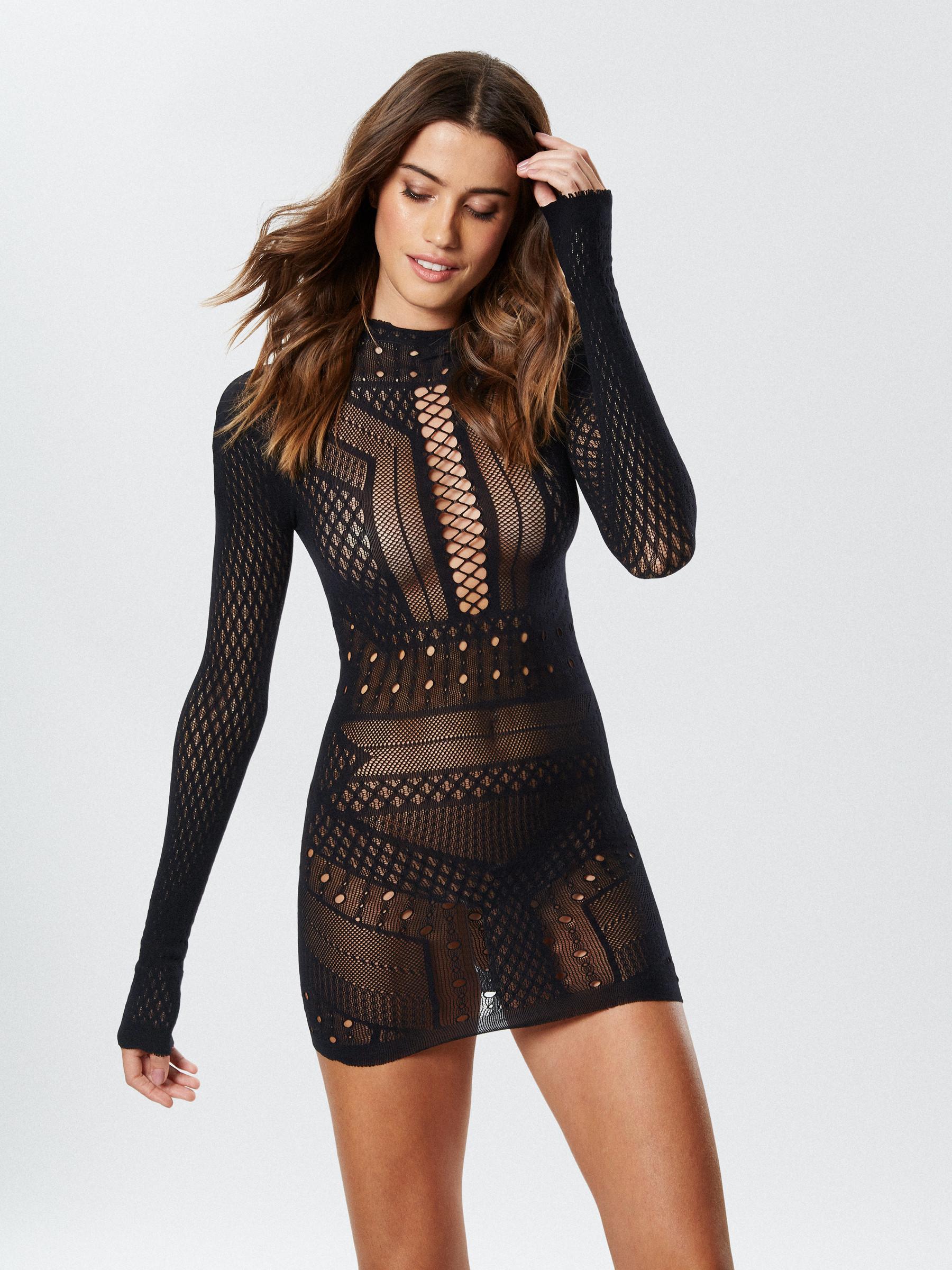 Sexy mesh clothing