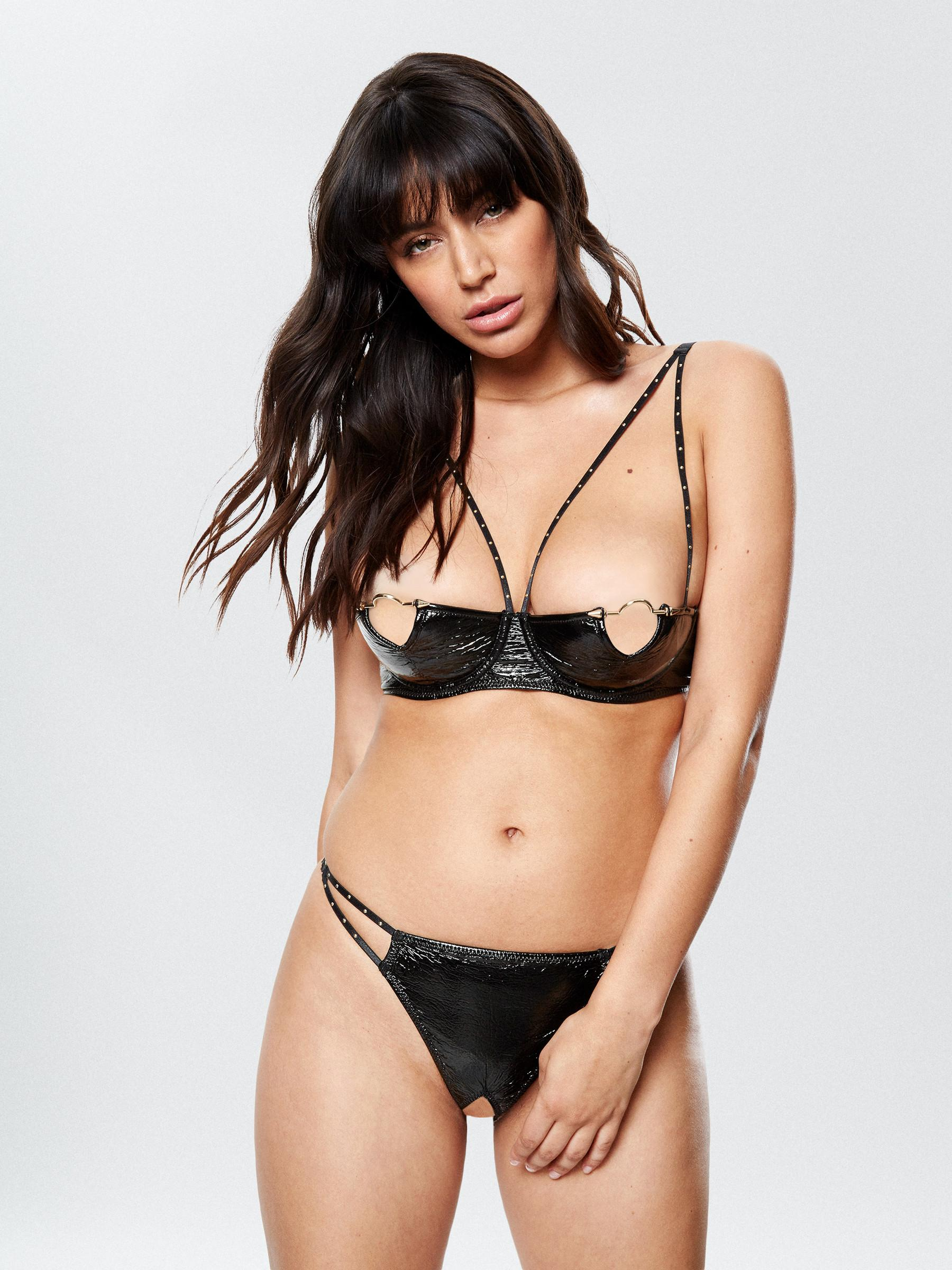1c0e08fbc0 Details about Ann Summers Womens Ada Set Sexy Quarter Bra Underwire Thong Lingerie  Underwear