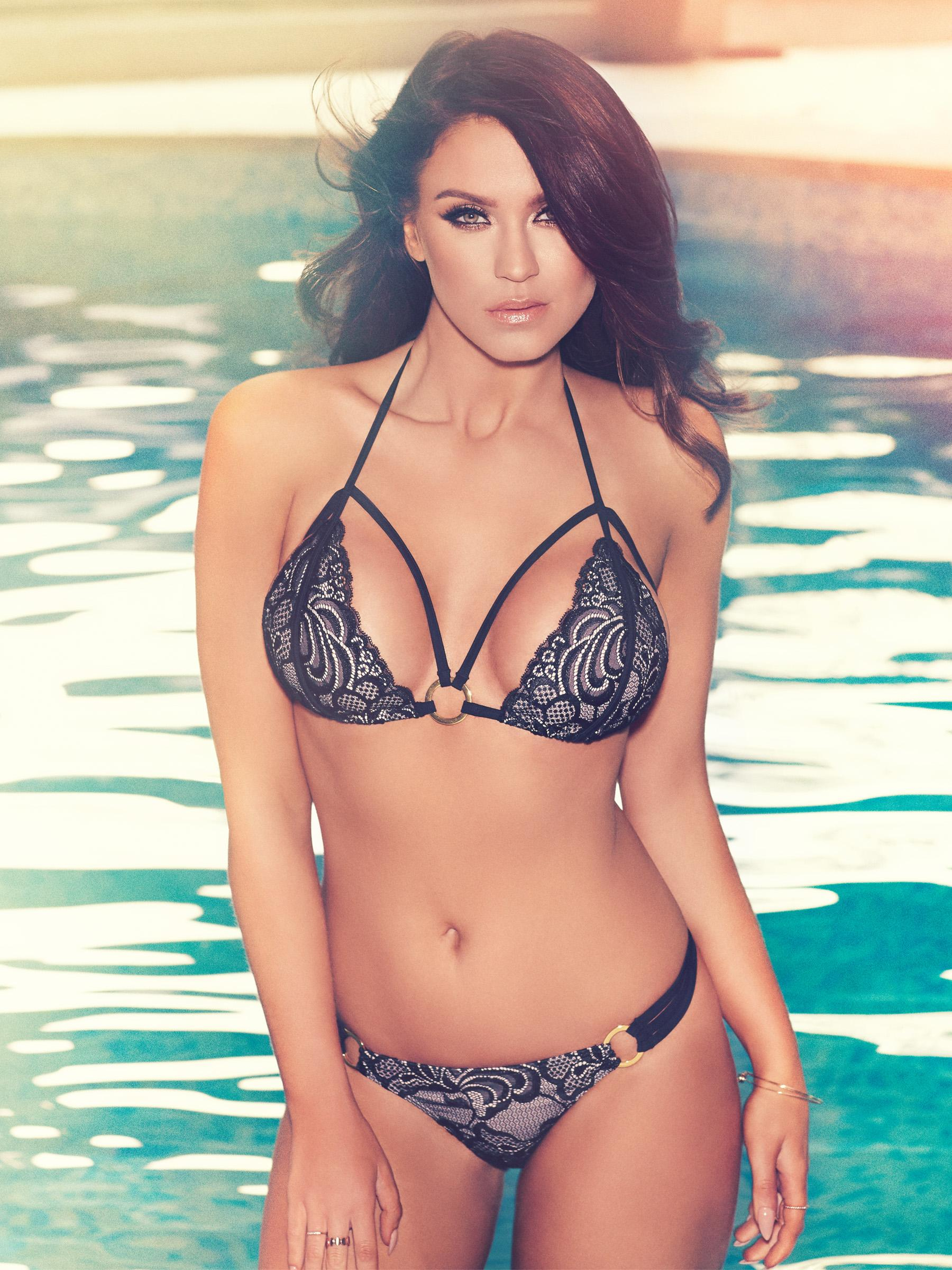 Maya Stud Bikini Top - Black/nude Ann Summers Free Shipping Real Cheap Wide Range Of With Paypal Cheap Price Explore Buy Cheap Best Prices JqIzwijc