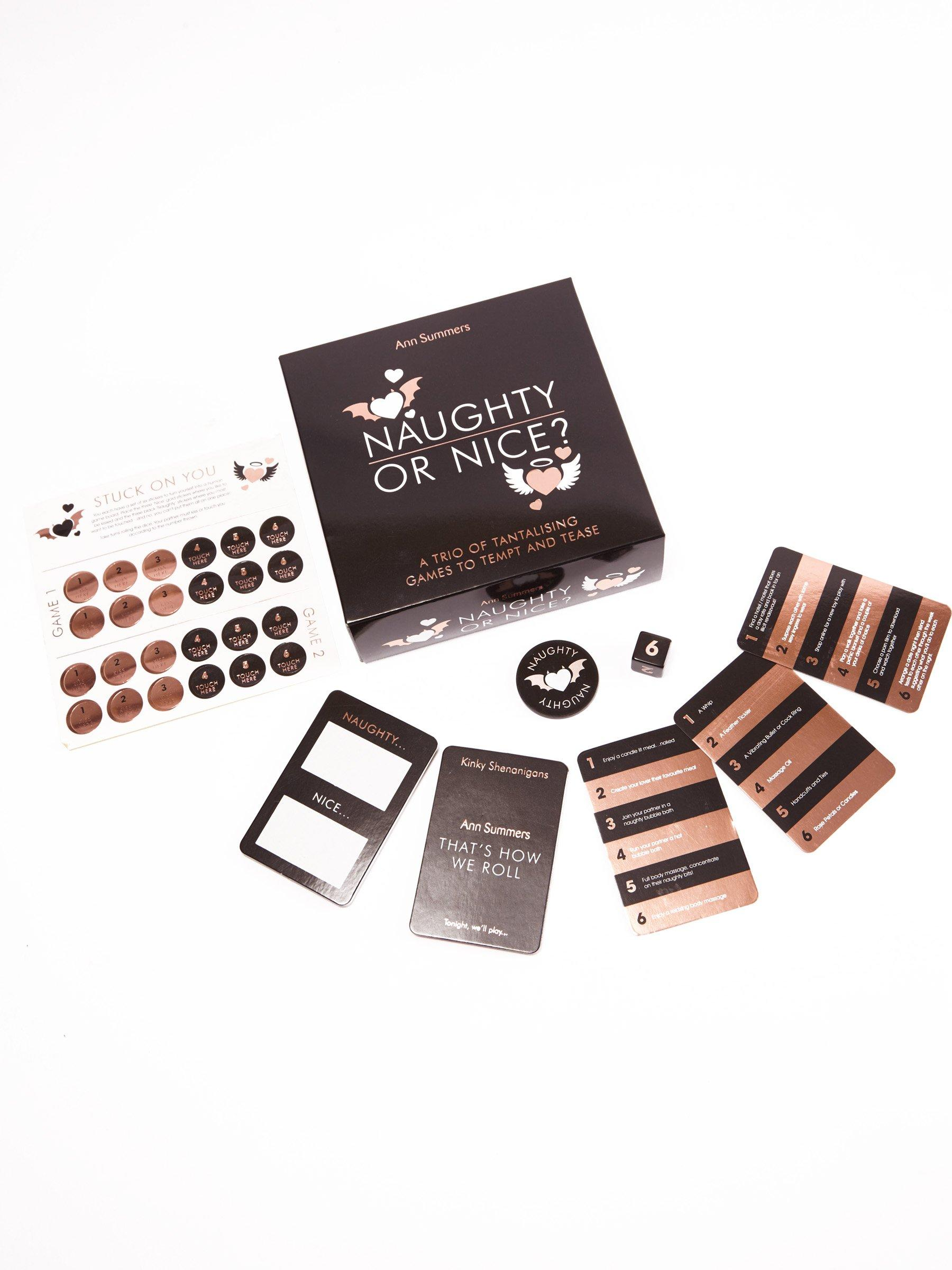 Ann Summers Naughty Or Nice Couples Game Sexy Gift Novelty Bedroom Accessory