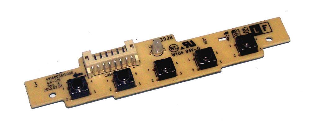 ViewSonic 491A00591500R VA2231A Front Panel Switch Board | ILK-219