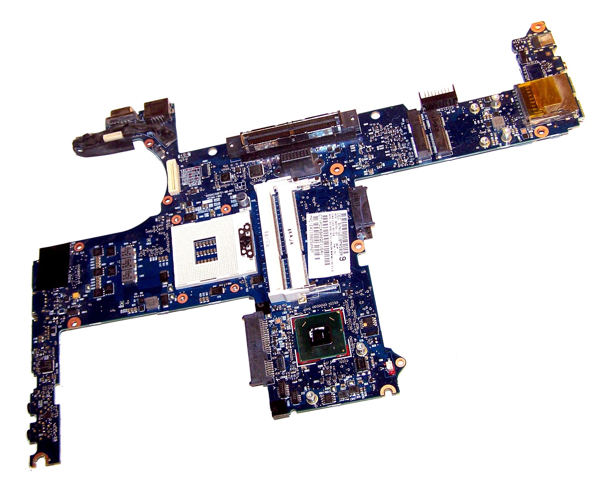 HP 642759-001 EliteBook 8460p Socket G2 Motherboard (UMA