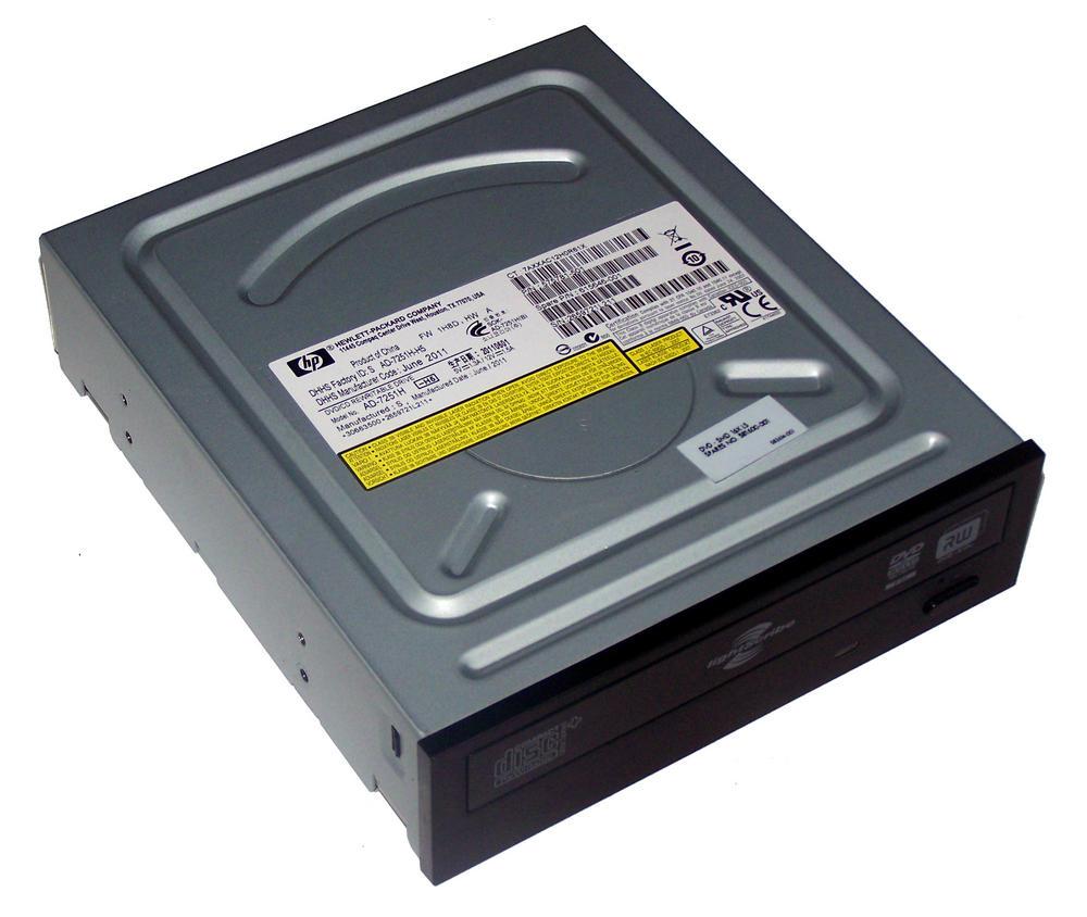 HP 575781-501 Black Bezel SATA H/H DVD DL Recorder | AD-7251H SPS 581600-001
