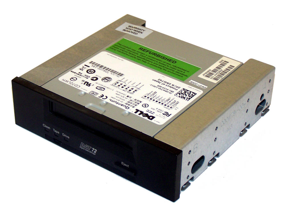 Dell NW740 DAT72 Internal SCSI 36/72GB DAT Drive | CD72LWG 0NW740
