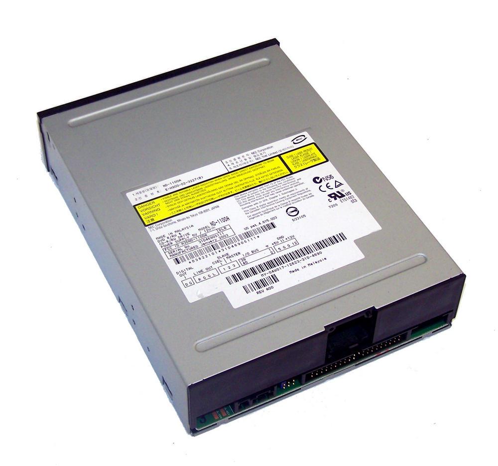 Dell 4W017 ATA H/H DVD-RW Drive with Black Bezel | Model ND-1100A 04W017 Thumbnail 2