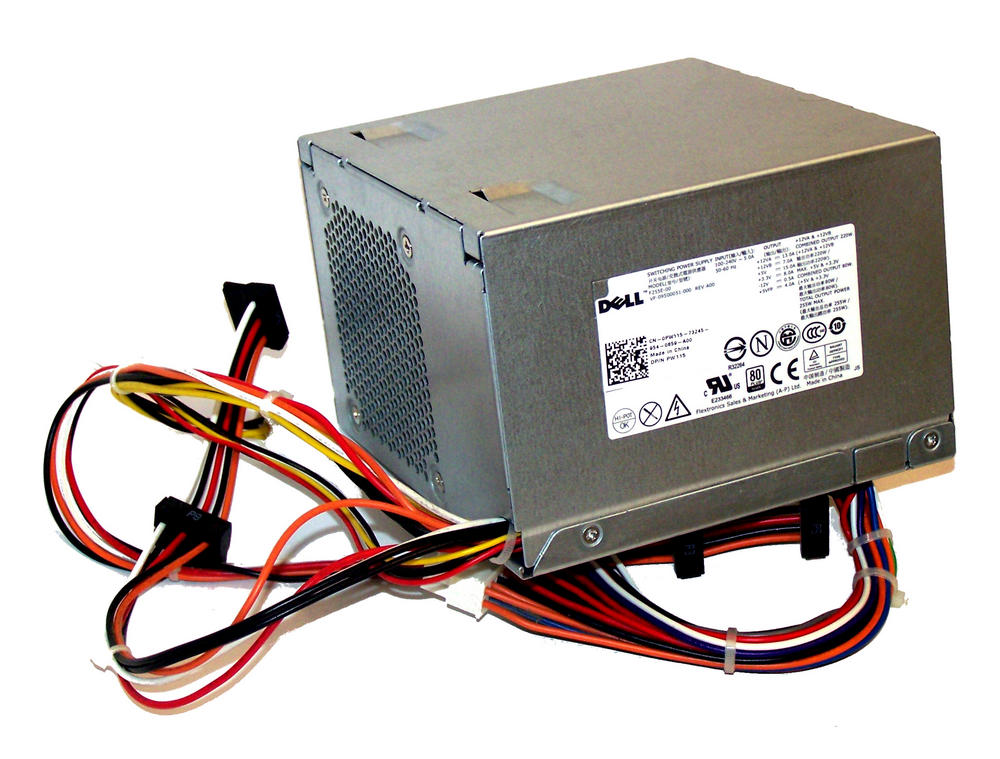 Dell PW115 OptiPlex 760 960 model DCSM 255W Power Supply (Mini Tower) | 0PW115