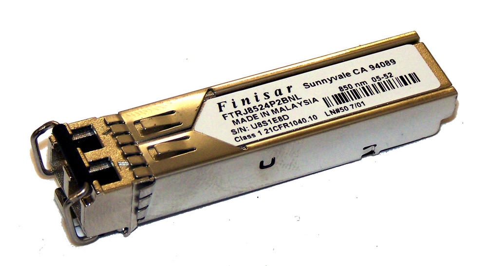 Finisar FTRJ8524P2BNL 4Gb SFP 850nm GBIC Transceiver Thumbnail 1