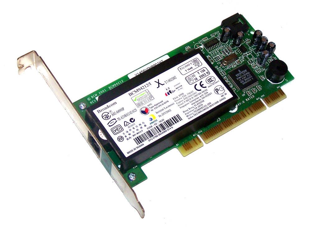 Dell 9R461 PCI Broadcom 56K Modem Card  | Standard Profile Bracket 09R461