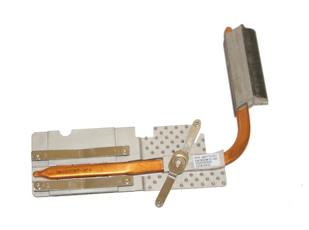 HP 493174-001 Compaq 6735s CPU Heatsink   6043B0044101.A01