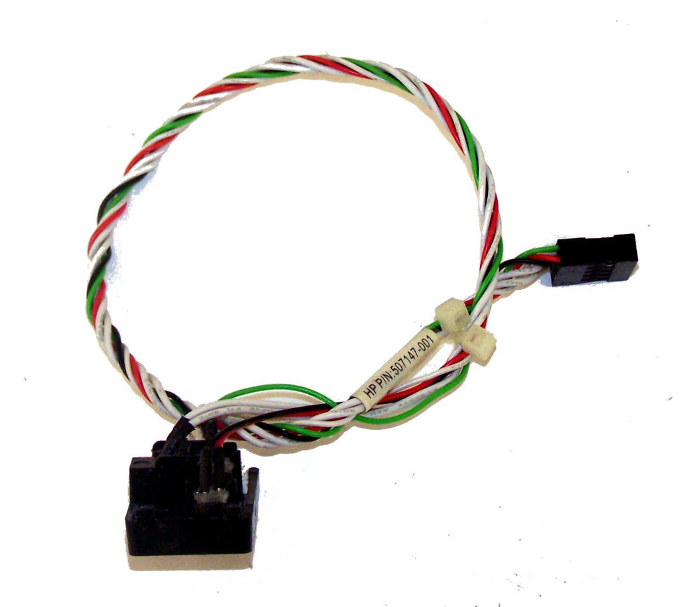 HP 507147-001 Pro 6000 6005 Microtower Power Switch and LED Assembly