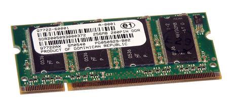 HP Q7722-60001 (Q7722AX) Color LaserJet 4700 256MB 200-Pin Memory Module