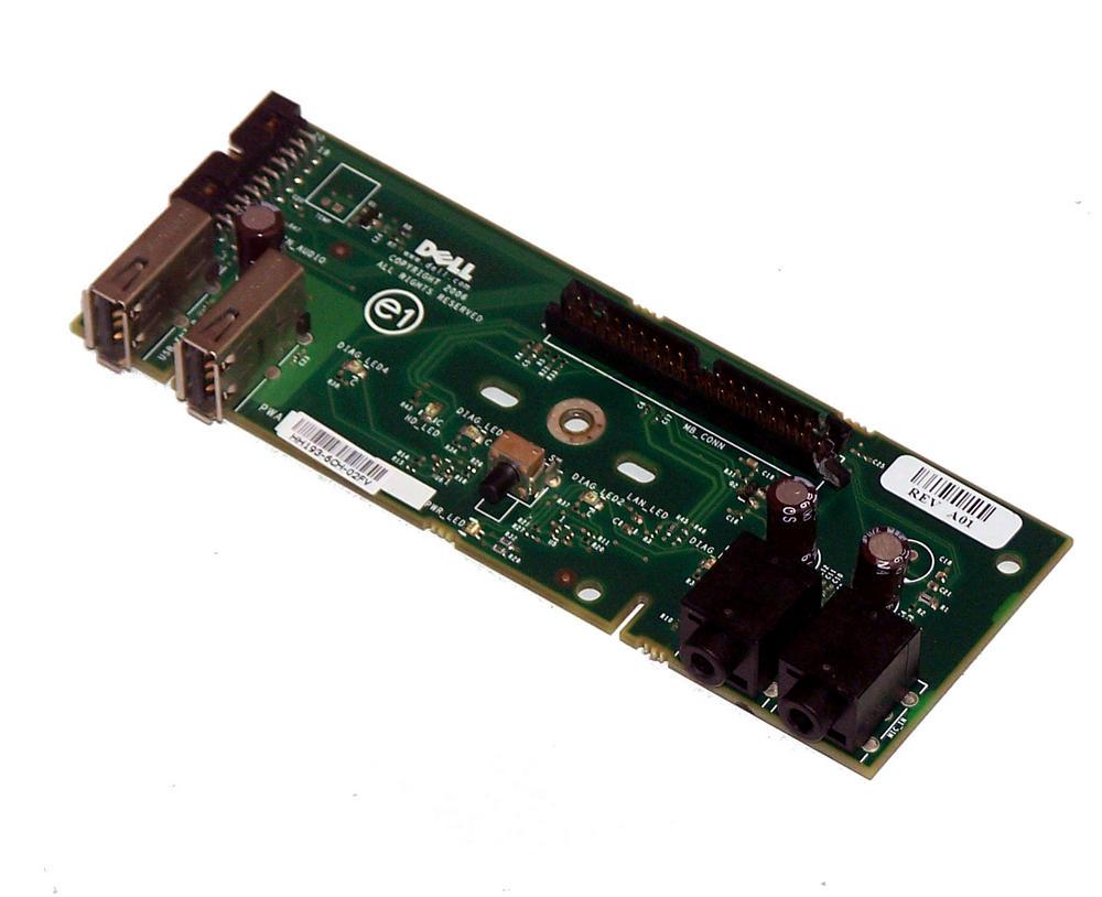 Dell HH193 Dimension E520 E521 Front IO Board Panel | 0HH193