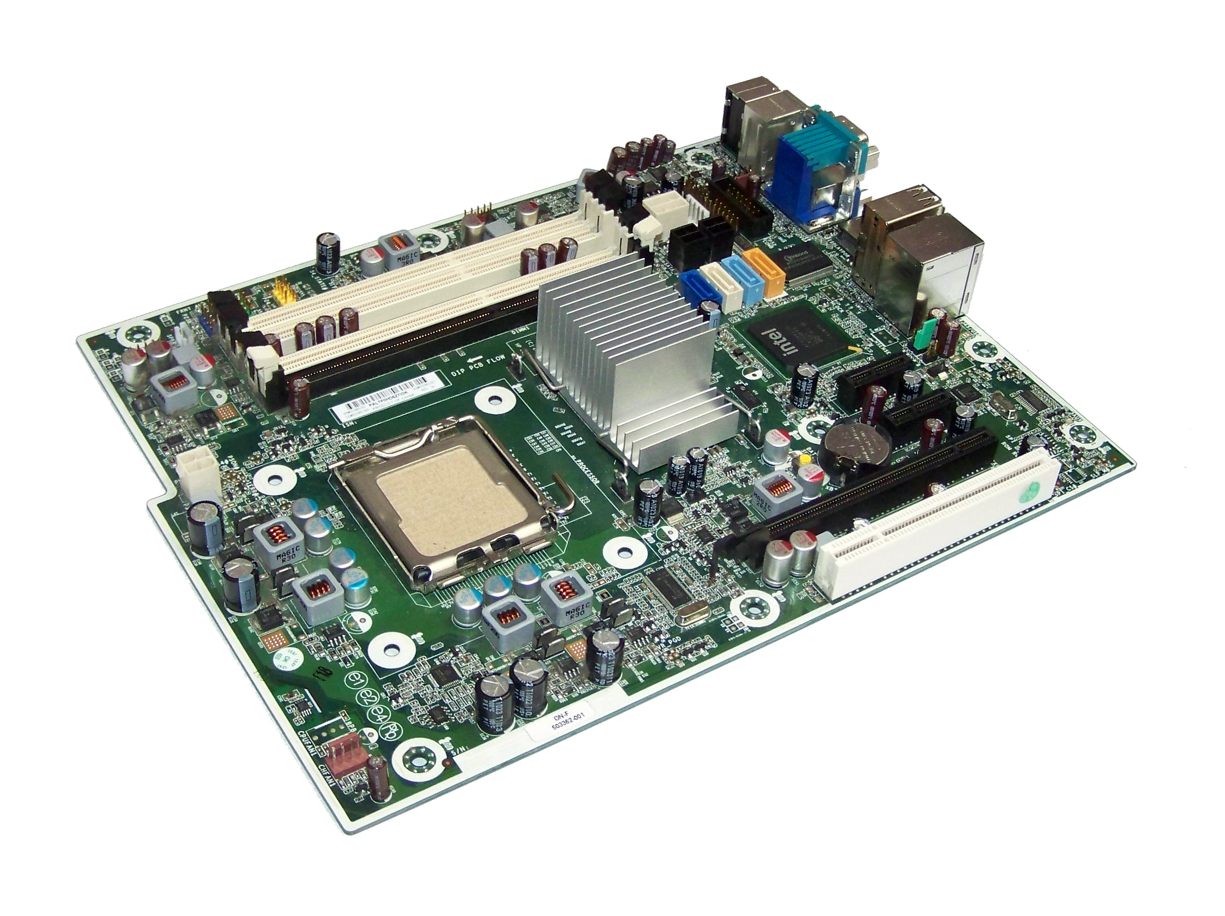Details about HP 503362-001 6000 Pro Microtower Socket T LGA775 Motherboard  | 531965-001