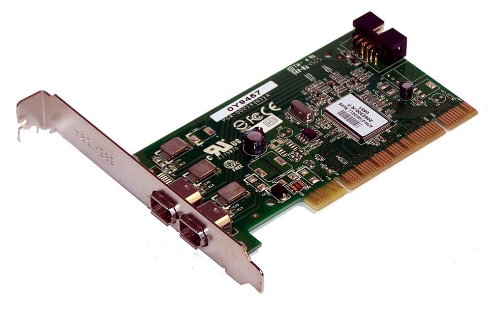 Dell Y9457 OptiPlex GX520 model DCSM PCI Firewire Card   0Y9457 Adaptec AFW-2100