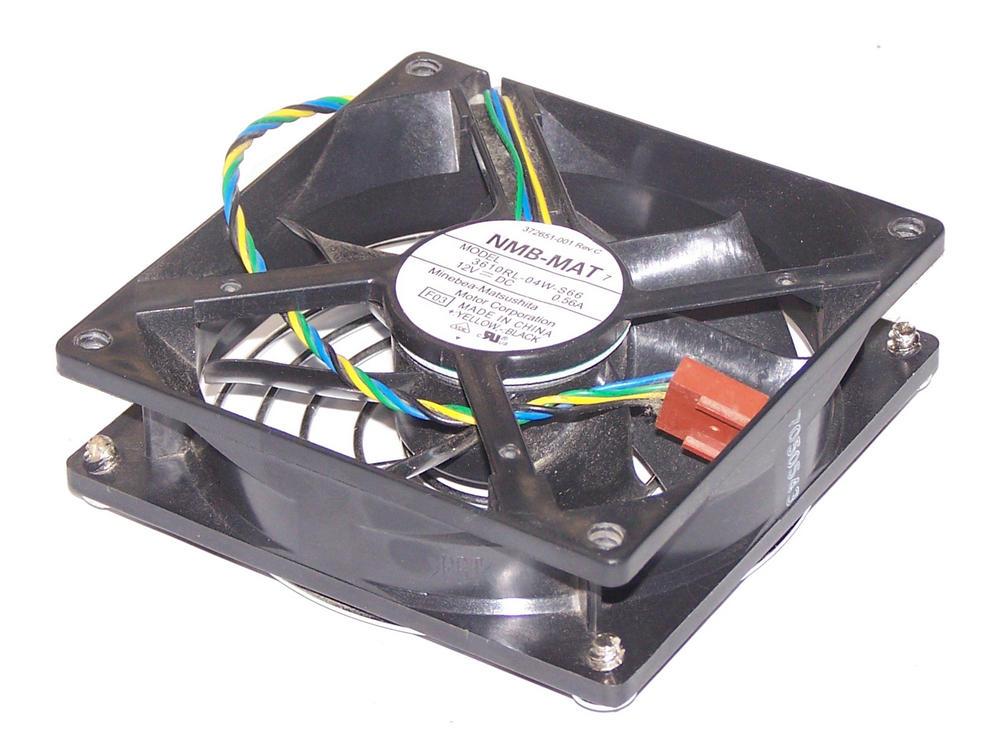 HP 372651-001 dc5100 MT Case Fan 12VDC 0.56A | NMB-MAT 3610RL-04W-S66
