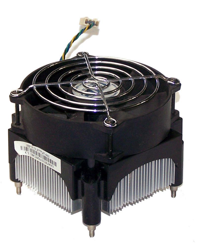 HP 377747-001 dc5100 MicroTower Socket T LGA775 Heatsink and Fan