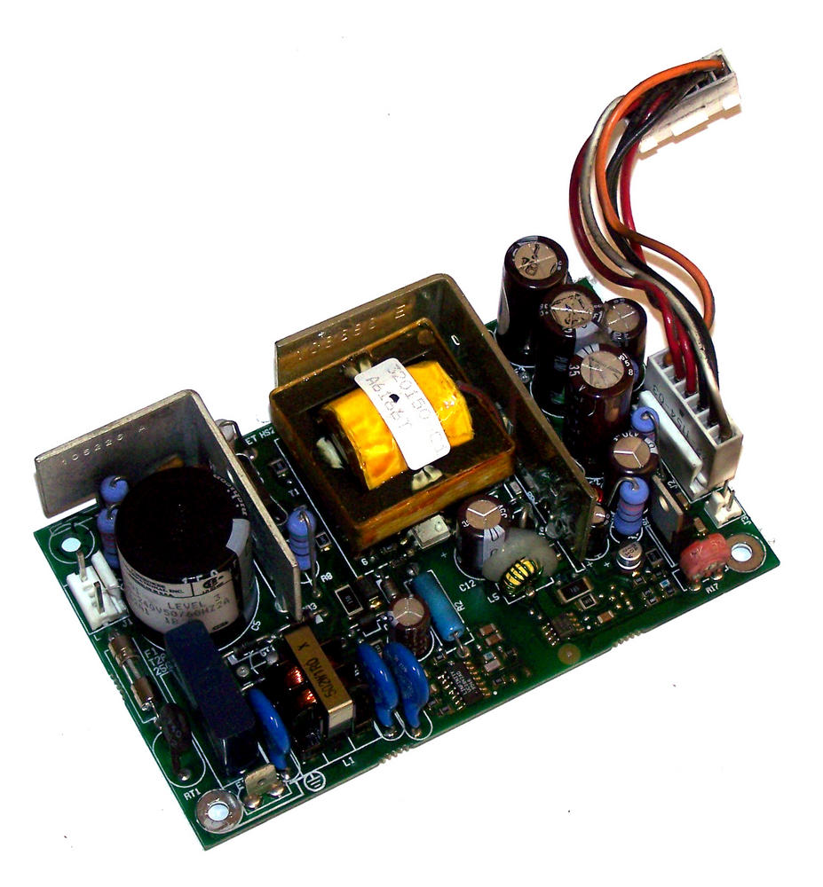Cherokee QF62A1 1B 5VDC@8A 12VDC 2.5A -12VDC@0.5A 1U Open Frame Power Supply Thumbnail 1