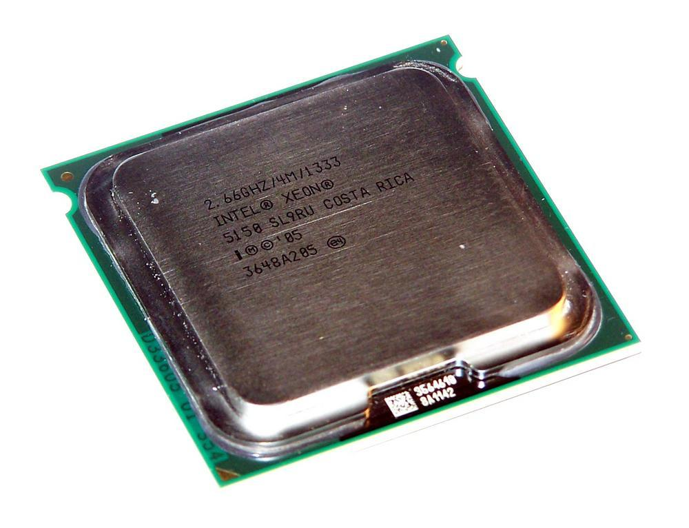 Intel HH80556KJ0674M Xeon Dual Core 5150 2.66GHz Socket J LGA771 Processor SL9RU