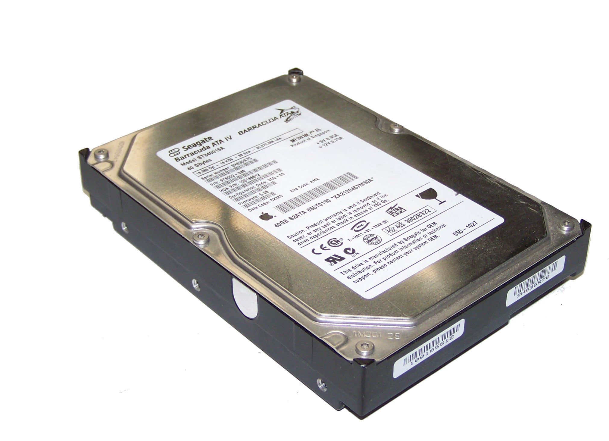 DRIVERS FOR ST340016A