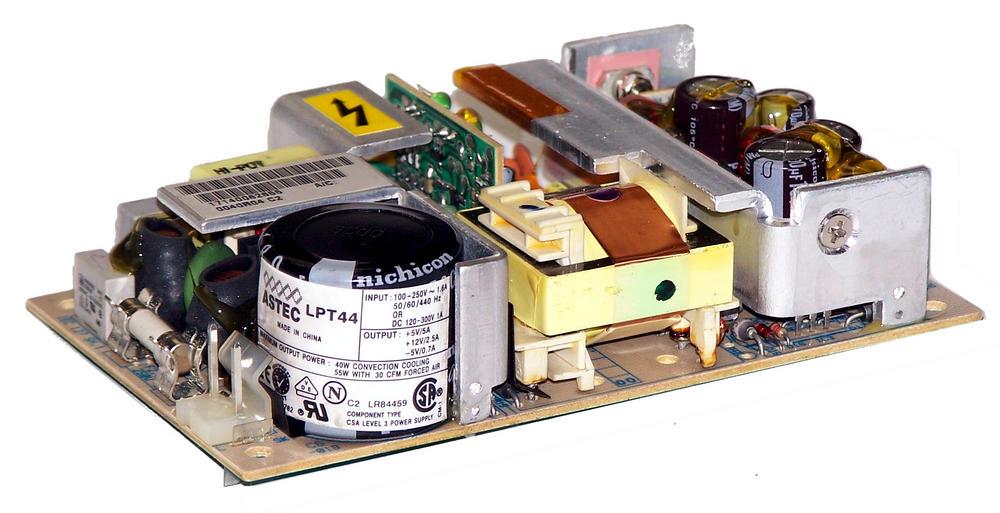 Astec LPT44 5VDC@4A 12VDC@2A 40W 1U Open Frame Power Supply