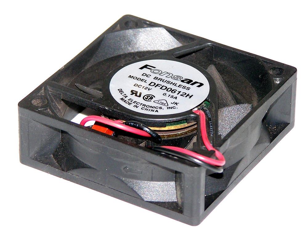 Fonsan DFD0612H 12VDC 0.09A 60mm X 20mm 2-Wire Fan for Cisco 2500