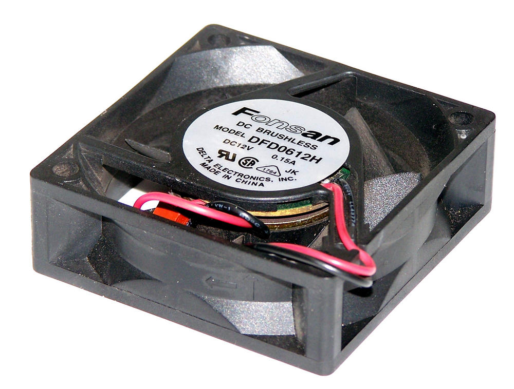 Fonsan DFD0612H 12VDC 0.09A 60mm X 20mm 2-Wire Fan for Cisco 2500